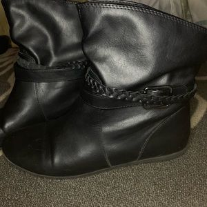 AE Black Ankle Boots